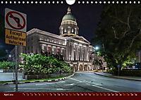Nachtansichten Singapur City (Wandkalender 2019 DIN A4 quer) - Produktdetailbild 4