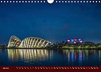 Nachtansichten Singapur City (Wandkalender 2019 DIN A4 quer) - Produktdetailbild 7