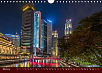 Nachtansichten Singapur City (Wandkalender 2019 DIN A4 quer) - Produktdetailbild 3