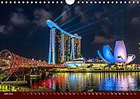 Nachtansichten Singapur City (Wandkalender 2019 DIN A4 quer) - Produktdetailbild 6