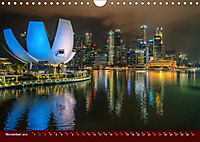 Nachtansichten Singapur City (Wandkalender 2019 DIN A4 quer) - Produktdetailbild 11