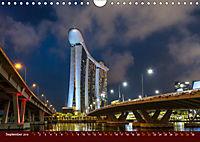 Nachtansichten Singapur City (Wandkalender 2019 DIN A4 quer) - Produktdetailbild 9