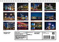 Nachtansichten Singapur City (Wandkalender 2019 DIN A4 quer) - Produktdetailbild 13