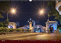Nachtansichten Singapur City (Wandkalender 2019 DIN A3 quer) - Produktdetailbild 5