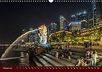 Nachtansichten Singapur City (Wandkalender 2019 DIN A3 quer) - Produktdetailbild 2