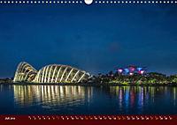 Nachtansichten Singapur City (Wandkalender 2019 DIN A3 quer) - Produktdetailbild 7