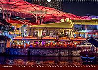 Nachtansichten Singapur City (Wandkalender 2019 DIN A3 quer) - Produktdetailbild 10