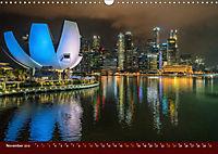 Nachtansichten Singapur City (Wandkalender 2019 DIN A3 quer) - Produktdetailbild 11