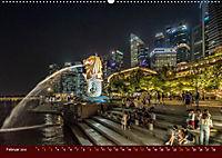 Nachtansichten Singapur City (Wandkalender 2019 DIN A2 quer) - Produktdetailbild 2