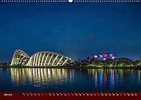Nachtansichten Singapur City (Wandkalender 2019 DIN A2 quer) - Produktdetailbild 7