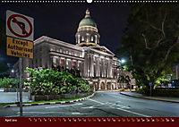 Nachtansichten Singapur City (Wandkalender 2019 DIN A2 quer) - Produktdetailbild 4