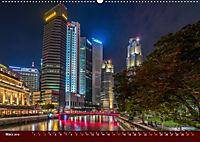 Nachtansichten Singapur City (Wandkalender 2019 DIN A2 quer) - Produktdetailbild 3