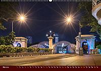 Nachtansichten Singapur City (Wandkalender 2019 DIN A2 quer) - Produktdetailbild 5