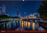 Nachtansichten Singapur City (Wandkalender 2019 DIN A2 quer) - Produktdetailbild 8