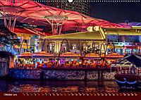 Nachtansichten Singapur City (Wandkalender 2019 DIN A2 quer) - Produktdetailbild 10