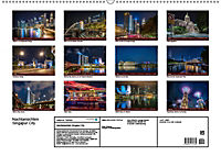 Nachtansichten Singapur City (Wandkalender 2019 DIN A2 quer) - Produktdetailbild 13
