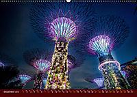 Nachtansichten Singapur City (Wandkalender 2019 DIN A2 quer) - Produktdetailbild 12