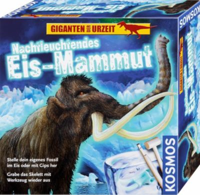 Nachtleuchtendes Eis-Mammut