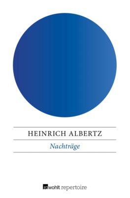 Nachträge - Heinrich Albertz  