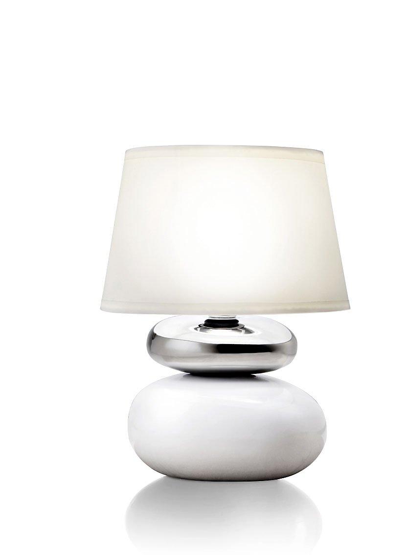 Nachttischlampe / Nachttischlampe, Holz und Baumwolle, Bettwäsche ...
