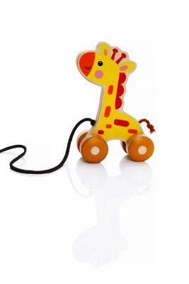 Nachziehfigur Giraffe