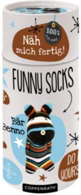 Näh mich fertig! Funny Socks - Bär Benno