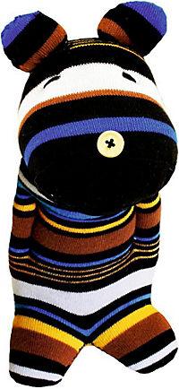 Näh mich fertig! Funny Socks - Bär Benno - Produktdetailbild 1