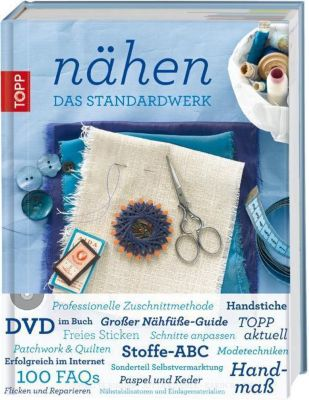 Nähen, m. DVD, Brigitte Binder, Jutta Kühnle, Karin Roser