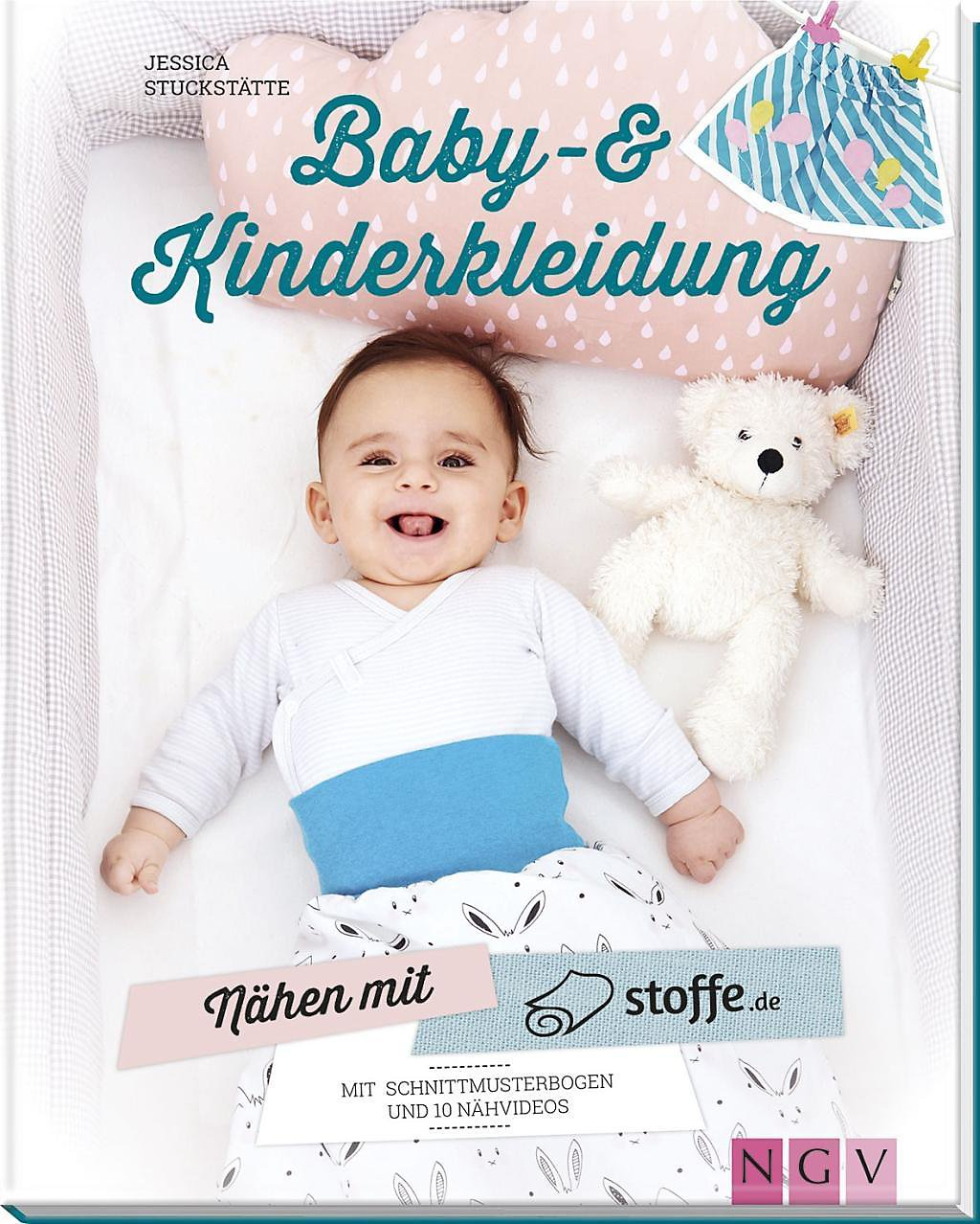 623841a61e956f Nähen mit stoffe.de - Baby-   Kinderkleidung Buch - Weltbild.at