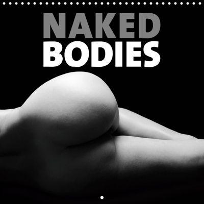 NAKED BODIES (Wall Calendar 2019 300 × 300 mm Square), k.A. Darren