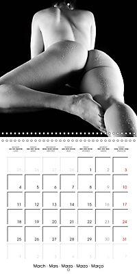 NAKED BODIES (Wall Calendar 2019 300 × 300 mm Square) - Produktdetailbild 3