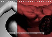 Naked men behind the colors - Ästhetische Aktfotografien (Tischkalender 2019 DIN A5 quer) - Produktdetailbild 6