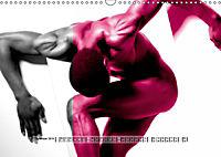 Naked men behind the colors - Ästhetische Aktfotografien (Wandkalender 2019 DIN A3 quer) - Produktdetailbild 9