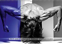 Naked men behind the colors - Ästhetische Aktfotografien (Wandkalender 2019 DIN A3 quer) - Produktdetailbild 10