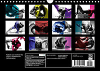 Naked men behind the colors - Ästhetische Aktfotografien (Wandkalender 2019 DIN A4 quer) - Produktdetailbild 13