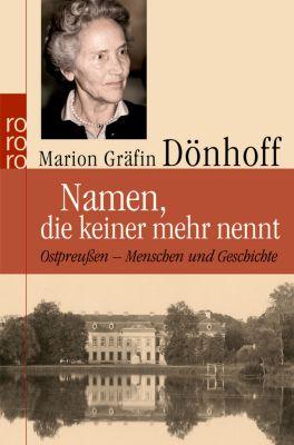 Namen, die keiner mehr nennt, Marion Gräfin Dönhoff