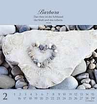 Namenskalender Barbara - Produktdetailbild 2