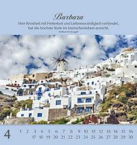 Namenskalender Barbara - Produktdetailbild 4
