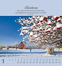 Namenskalender Barbara - Produktdetailbild 1