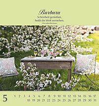 Namenskalender Barbara - Produktdetailbild 5