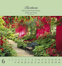Namenskalender Barbara - Produktdetailbild 6