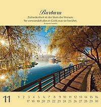 Namenskalender Barbara - Produktdetailbild 19