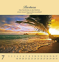 Namenskalender Barbara - Produktdetailbild 21
