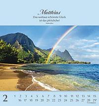 Namenskalender Matthias - Produktdetailbild 2