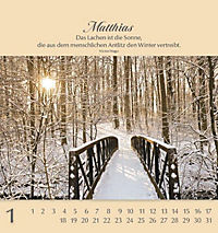 Namenskalender Matthias - Produktdetailbild 1