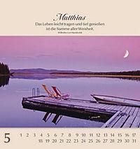 Namenskalender Matthias - Produktdetailbild 5
