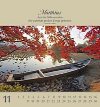 Namenskalender Matthias - Produktdetailbild 11
