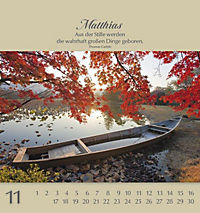 Namenskalender Matthias - Produktdetailbild 24