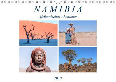 Namibia, afrikanisches Abenteuer (Wandkalender 2019 DIN A4 quer), Joana Kruse
