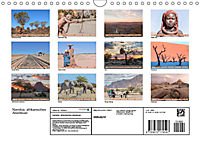 Namibia, afrikanisches Abenteuer (Wandkalender 2019 DIN A4 quer) - Produktdetailbild 13